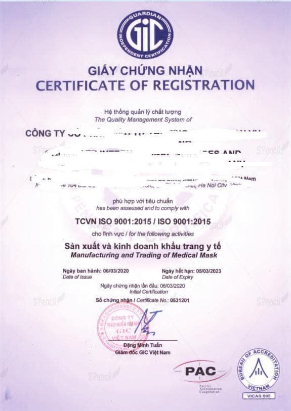 Tóm tắt Quản lý sản xuất và xuất khẩu Trang thiết bị y tế.